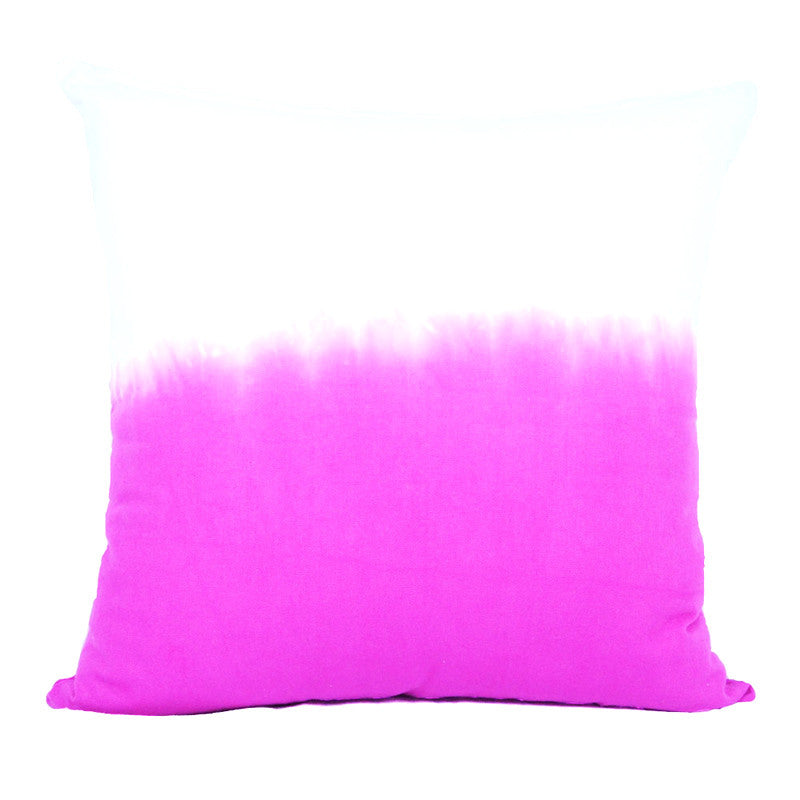 Calyz GGPCAL0042 Pink Ombre Square Pillow is Handmade - Harvey & Haley