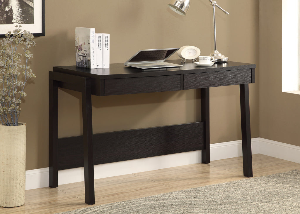 "Computer Desk - 48""L / Cappuccino With A Storage Drawer - Harvey & Haley"