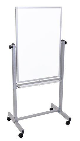 "Double Sided Magnetic Whiteboard 24"" x 36"" - Harvey & Haley"