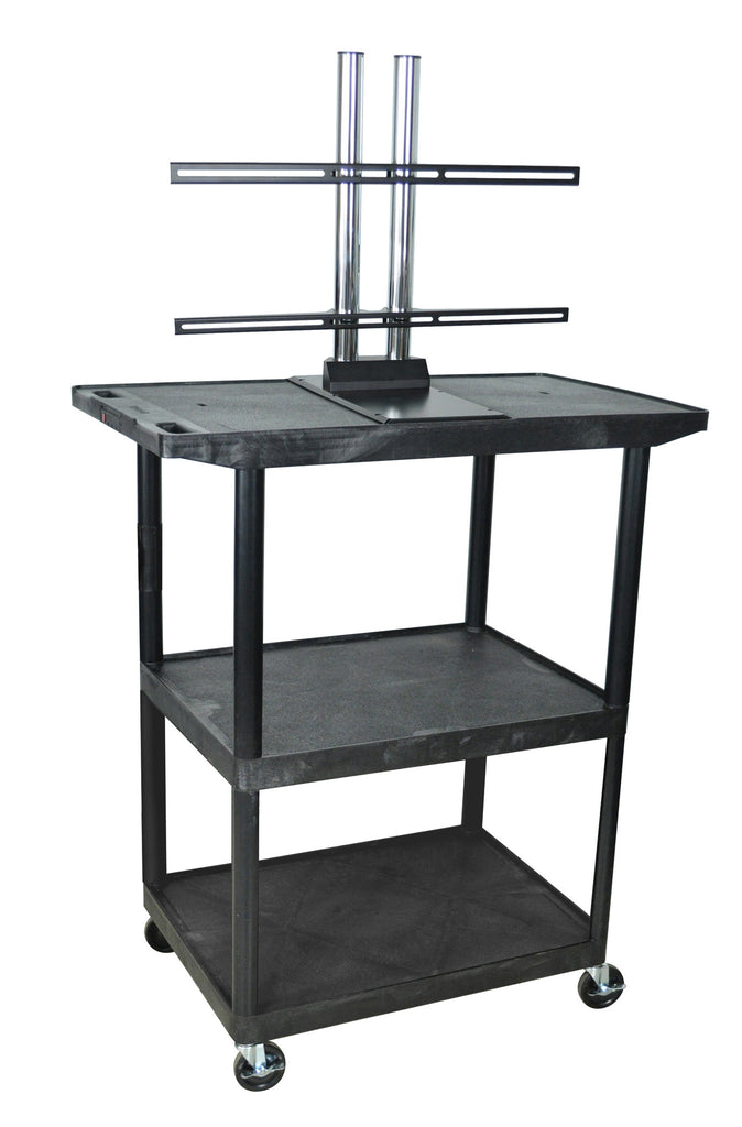 Luxor Flat Panel Cart - Harvey & Haley