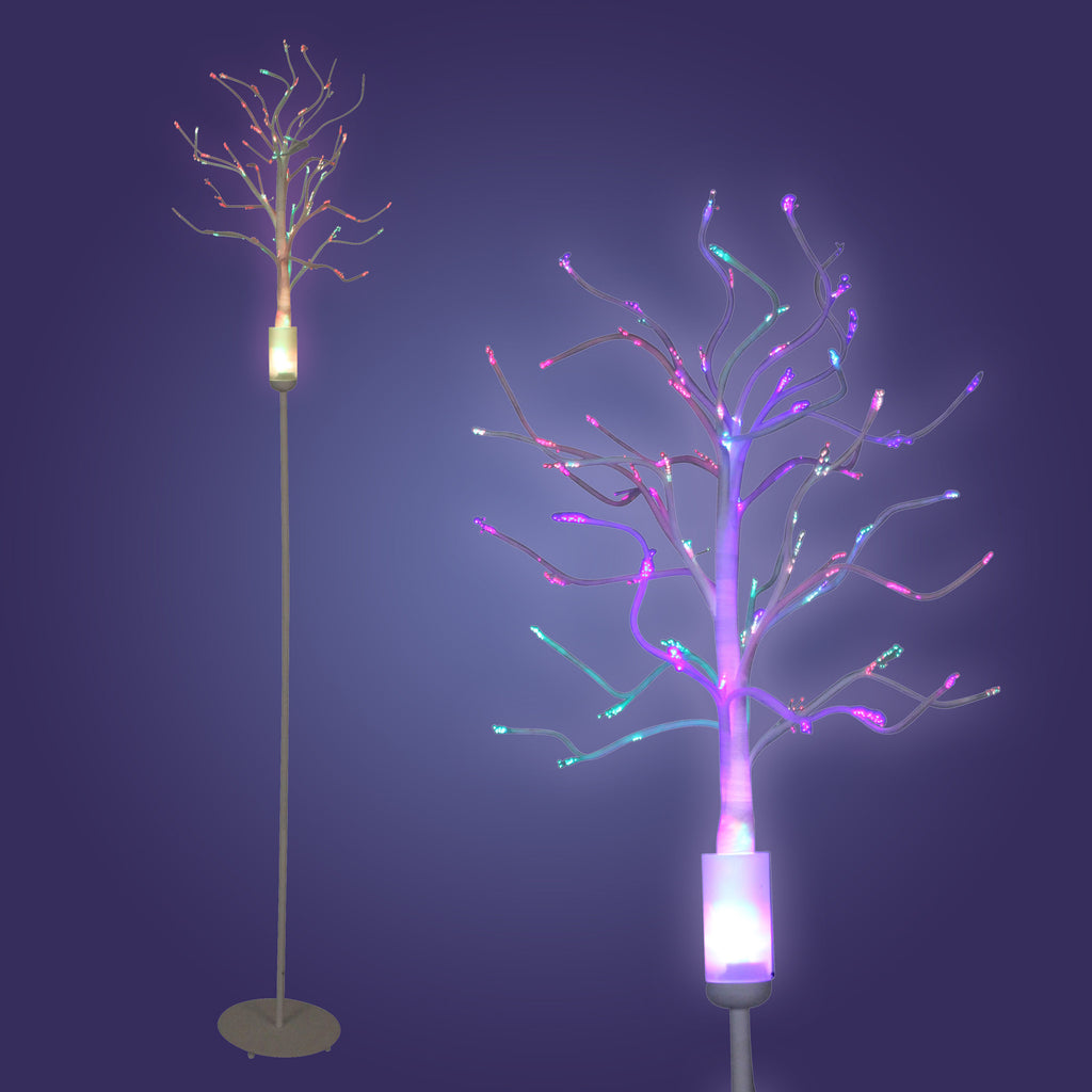 Lumisource Fiber Optic Tree in multi/white - Harvey & Haley