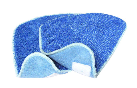 Salav 2-Piece Mop Pad Set for SALAV STM-402 Steam Mop - Harvey & Haley  - 1
