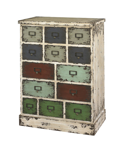 Powell Parcel 13 Drawer Cabinet - Harvey & Haley