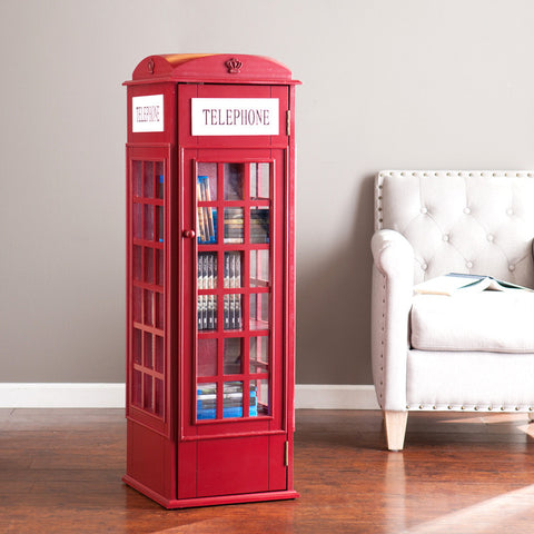 Phone Booth Storage Cabinet - Harvey & Haley  - 1
