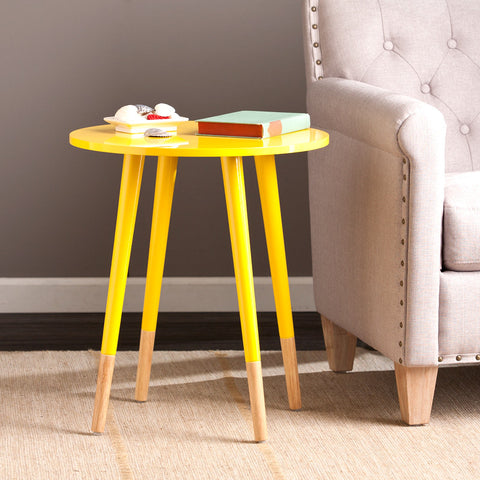 Laney Round Accent Table - Harvey & Haley  - 1