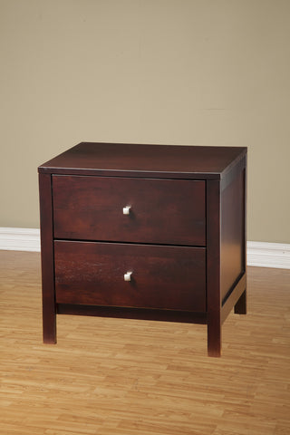 Alpine SOLANA 2 DRAWER NIGHTSTAND - Harvey & Haley