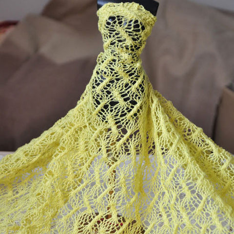 1.15 Meters Wide Mustard Yellow Silk Cotton Material - Harvey & Haley  - 1