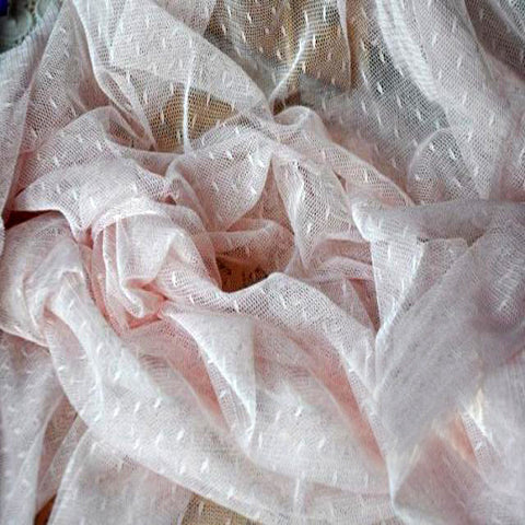 Soft Pale Pink Gauze Material for Arts & Crafts Projects Designing - Harvey & Haley