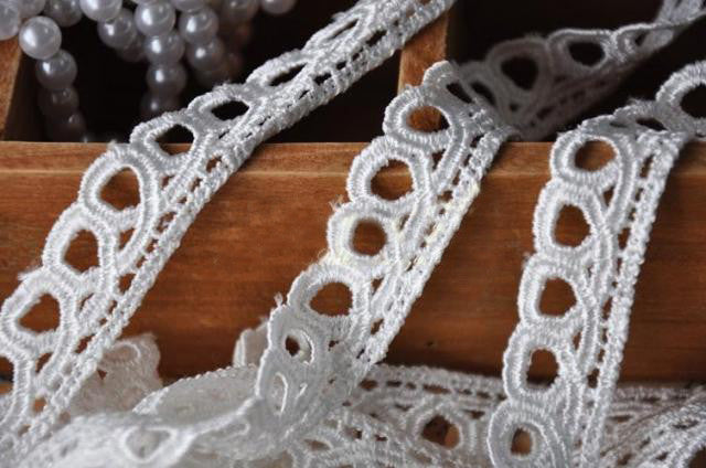 Shop for educational hobbies at harvey haley others 2cm white colored soluble lace used for do it yourself art projects solutioingenieria Images