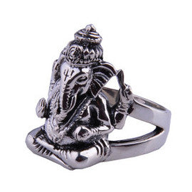 Cultural Jewelry Elephant Fortuna Ring for Guy's Fashion Jewelry Men's Styles-Size 8