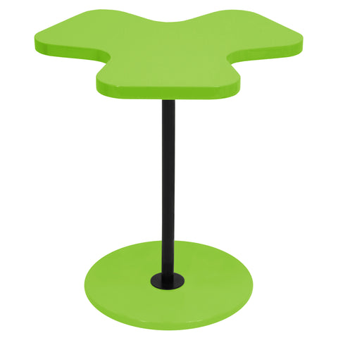Lumisource Clover Side Table in green - Harvey & Haley