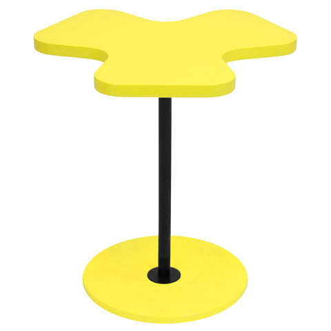 Lumisource Clover Side Table in yellow - Harvey & Haley