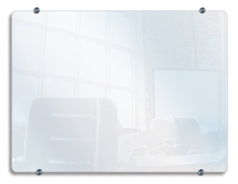 Luxor Wall-Mounted Glass Board - Harvey & Haley