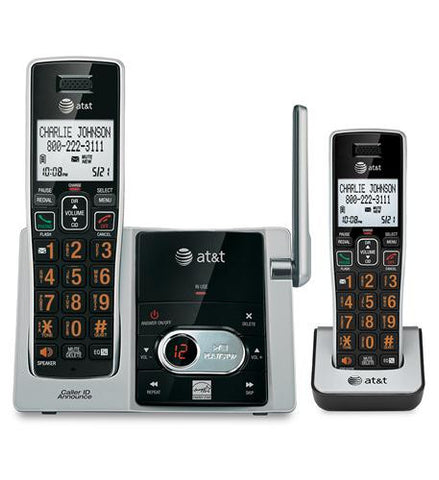 2 Handset Answering System with CID - Harvey & Haley
