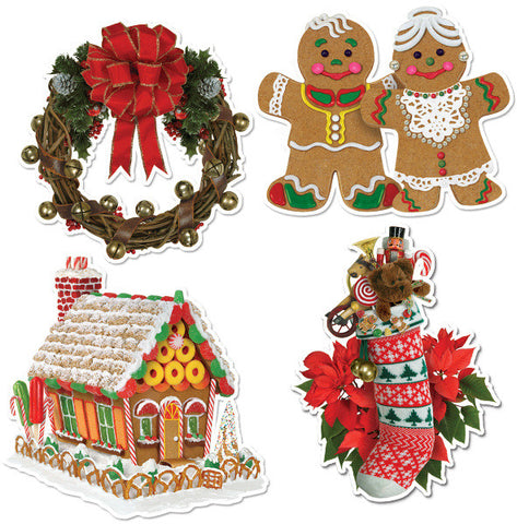 Home For Christmas Cutouts Case Pack 24 - Harvey & Haley