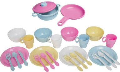 Kidkraft 27 Piece Kitchen Playset - Harvey & Haley