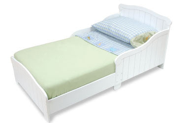 Kidkraft Nantucket White Toddler Bed - Harvey & Haley