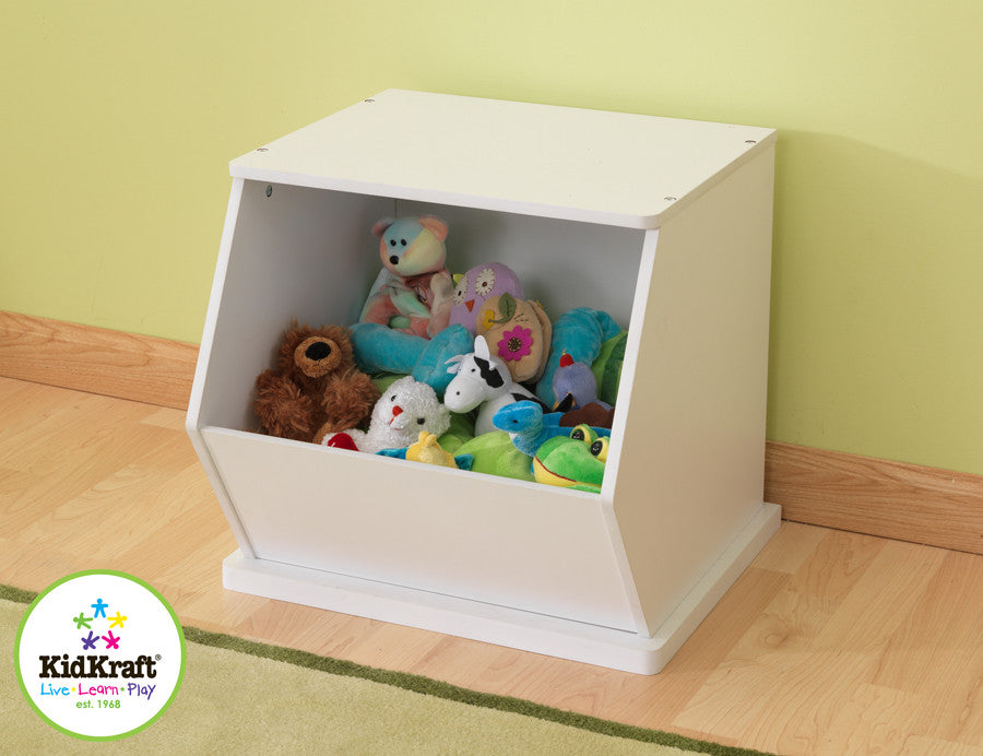 Kidkraft White Single Storage Unit - Harvey & Haley