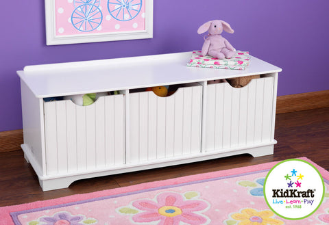 Kidkraft Nantucket Storage Bench - Harvey & Haley