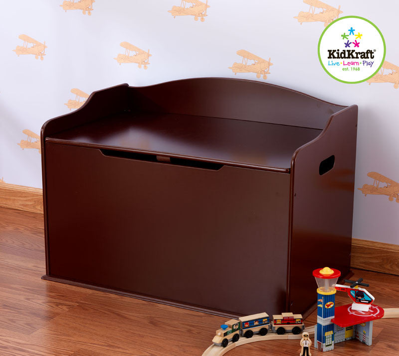 Kidkraft Austin Toy Box - Cherry - Harvey & Haley