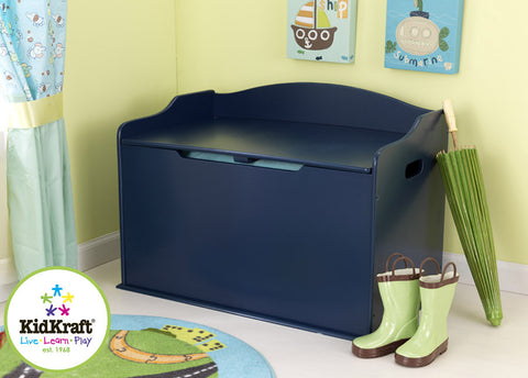 Kidkraft Austin Toy Box - Blueberry - Harvey & Haley