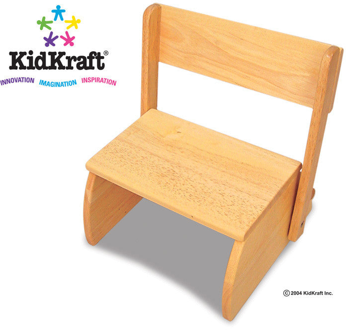 Kidkraft Natural Large Flip Stool - Harvey & Haley