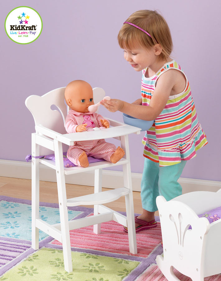 Kidkraft Lil Doll High Chair - Harvey & Haley