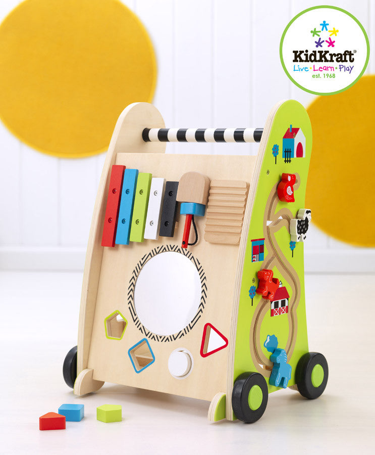 Kidkraft Push Along Play Cart - Harvey & Haley