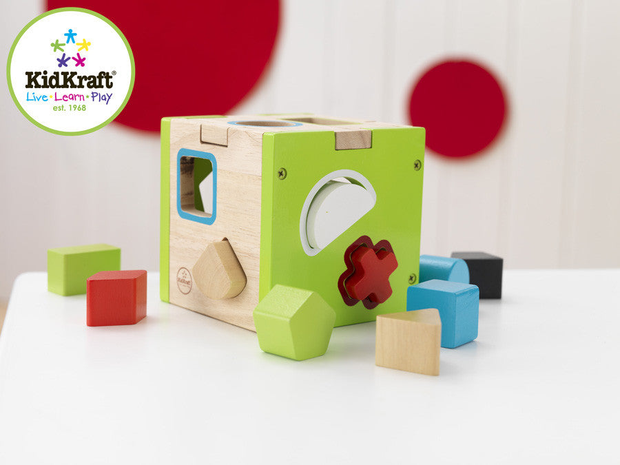 Kidkraft Shape Sorting Cube - Harvey & Haley