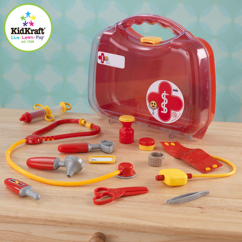 Kidkraft Doctor's Kit Play Set - Harvey & Haley