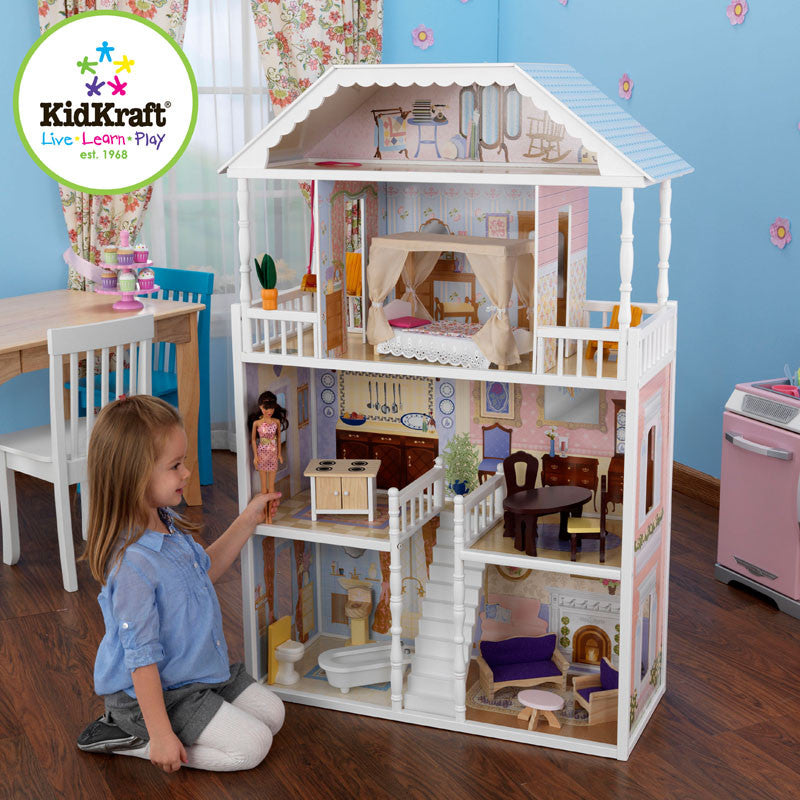 Kidkraft New Savannah Dollhouse - Harvey & Haley
