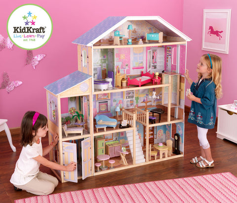 Kidkraft Majestic Mansion Dollhouse - Harvey & Haley