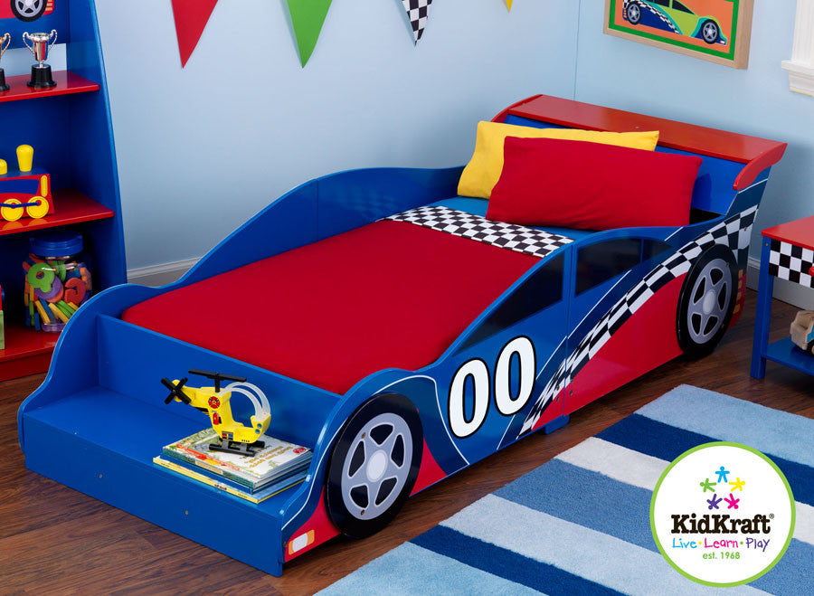 Kidkraft Racecar Toddler Bed - Harvey & Haley