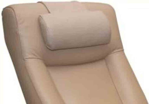 Top Grain Leather Cervical Pillow in Cobblestone Tan - Harvey & Haley