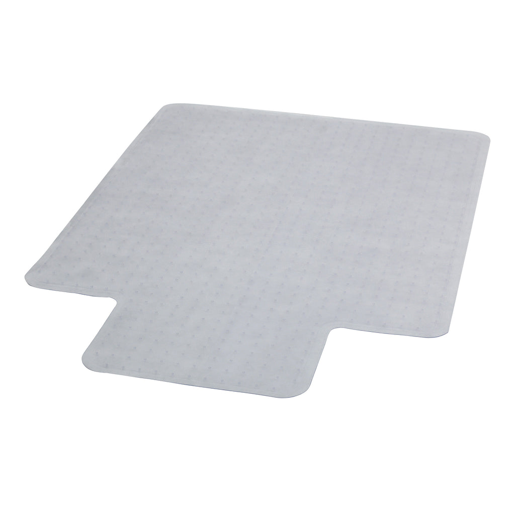 45'' x 53'' Carpet Chair mat with Lip - Harvey & Haley