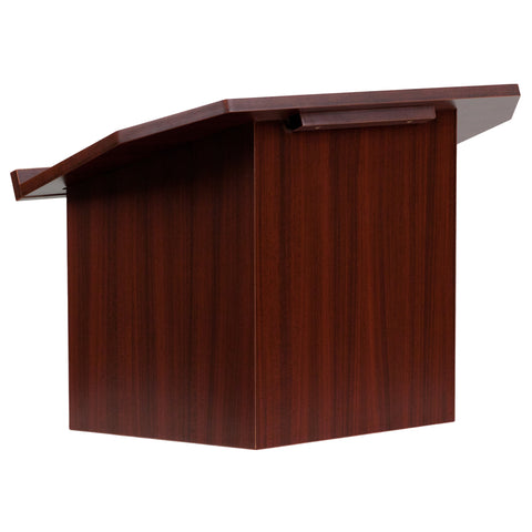 Foldable Mahogany Tabletop Lectern MT-M8833-LECT-GG - Harvey & Haley