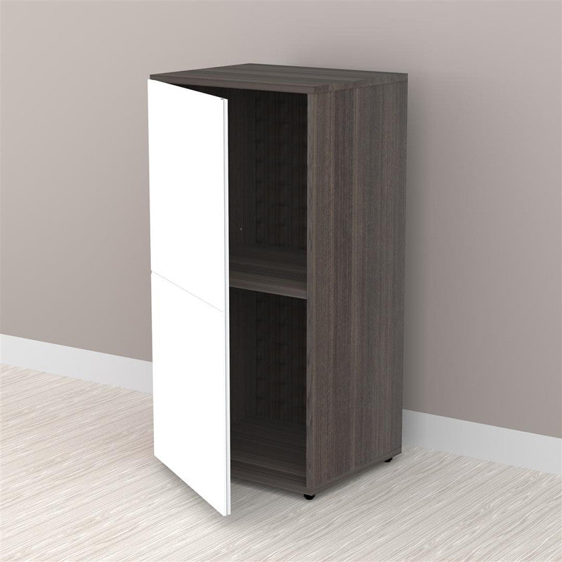 "Allure 36"" Tall Storage Cabinet with 1 Door - Harvey & Haley"