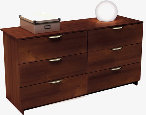Six Drawer Doubler Dresser - Nocce Collection - Harvey & Haley