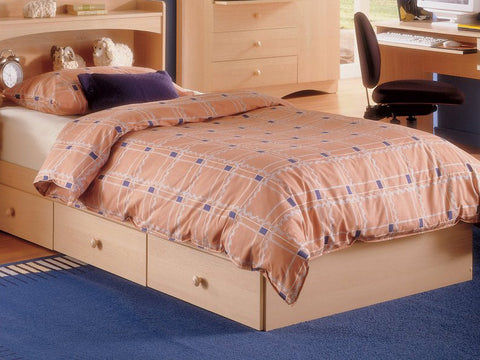 Nexera Alegria Twin Captain's Bed in Natural Maple - Harvey & Haley