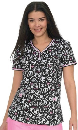 Stretch Brea Top - tokidoki Skull & Bones