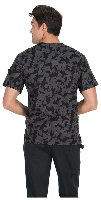 Koi Coby Retro Camo Top