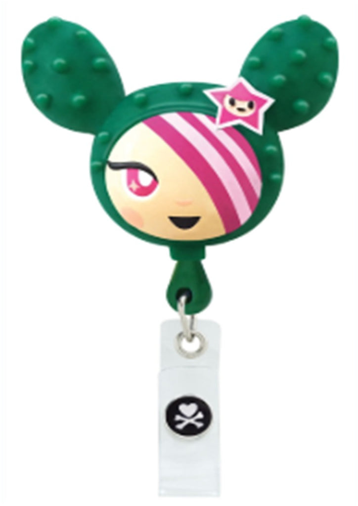 Tokidoki Simone Retractable I.D. Badge Clip
