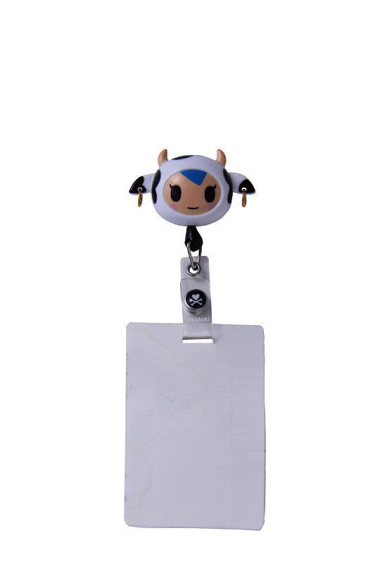 Tokidoki Mozzarella Retractable I.D. Badge Clip