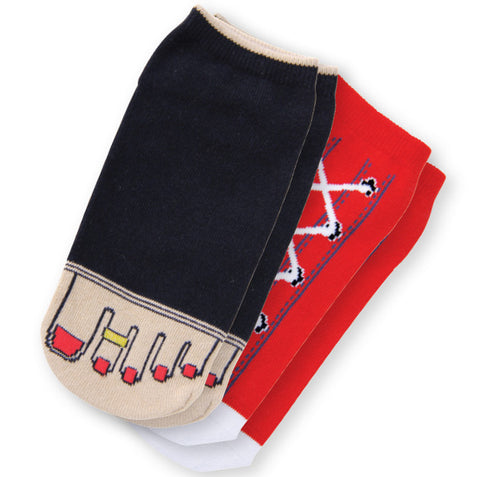 Koi Socks Two-Pack Fancy Feet Chili Red (Calsetines)