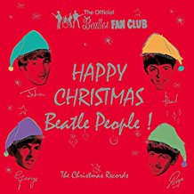 "The Beatles - Happy Christmas Beatle People ! (The Christmas Records) (7"", Single, RE, RM, Whi + 7"", Single, RE, RM, Red )"