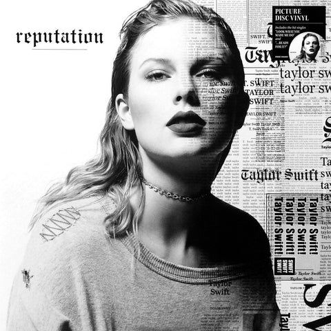 Taylor Swift - Reputation (2xLP, Album, Pic)