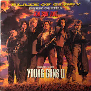 Jon Bon Jovi - Blaze Of Glory (LP, Album)
