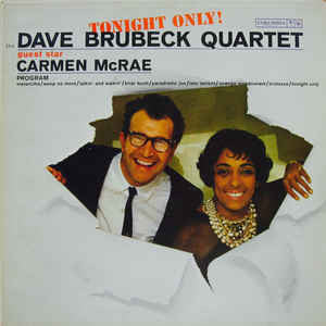 The Dave Brubeck Quartet - Tonight Only! (LP, Album)