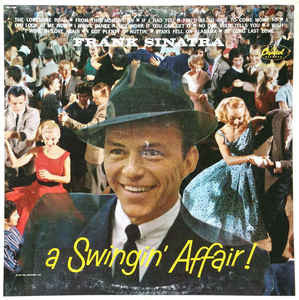 Frank Sinatra - A Swingin' Affair (LP, Album, RE)