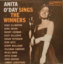 Anita O'Day - Anita O'Day Sings The Winners (LP, Album, Mono)